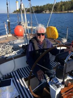 Sunburnt skipper