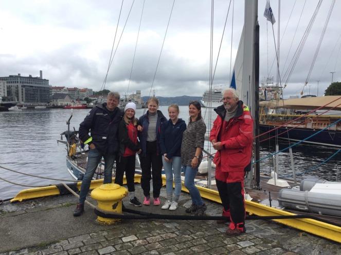 Crew, Bergen