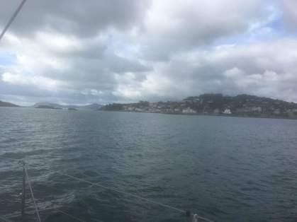 Approaching Muglins Sound at SE corner of Dublin Bay