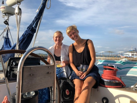 two young danish women who love south america